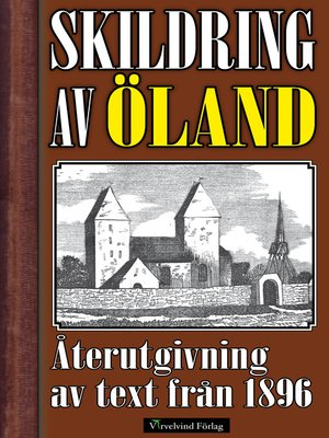 cover image of Skildring av Öland år 1896