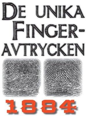 cover image of Unika fingeravtryck
