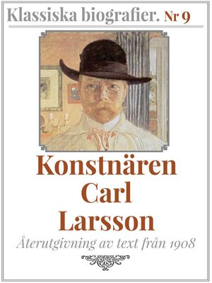 cover image of Konstnären Carl Larsson
