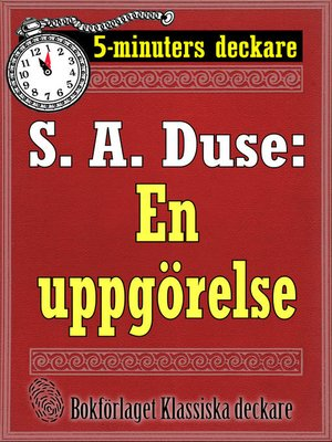 cover image of En uppgörelse