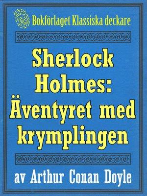cover image of Sherlock Holmes: Äventyret med krymplingen