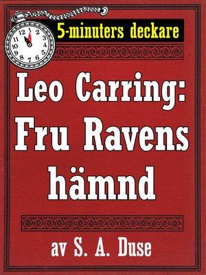 cover image of Fru Ravens hämnd. Berättelse
