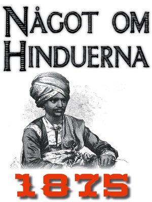 cover image of Skildring av hinduerna
