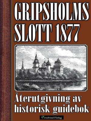 cover image of Gripsholms slott