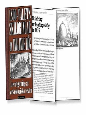 cover image of Skildring av Inglinge hög på 1800-talet