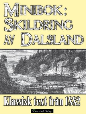 cover image of Minibok: Skildring av Dalsland år 1882