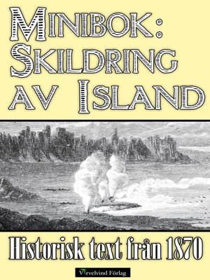 cover image of Minibok: Skildring av Island år 1870