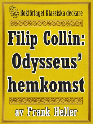 cover image of Filip Collin: Odysseus' hemkomst
