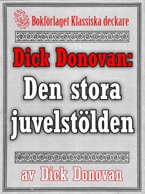 cover image of Den stora juvelstölden