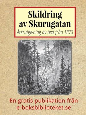 cover image of Skildring av Skurugatan