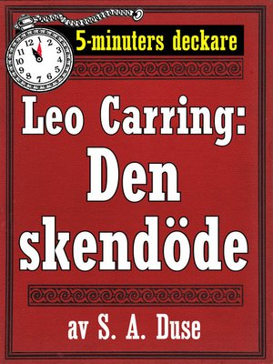 cover image of Den skendöde. Berättelse från Monte Carlo
