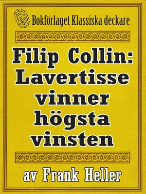 cover image of Filip Collin: Lavertisse vinner högsta vinsten