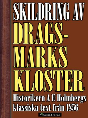 cover image of Skildring av Dragsmarks kloster år 1856