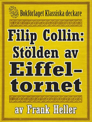 cover image of Filip Collin: Stölden av Eiffeltornet