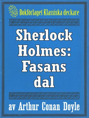 cover image of Sherlock Holmes: Fasans dal