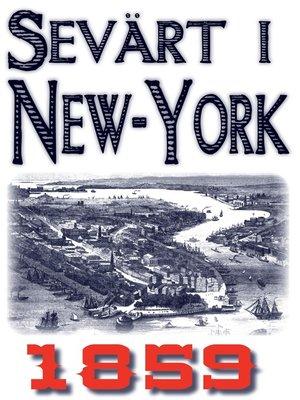cover image of Skildring av New York