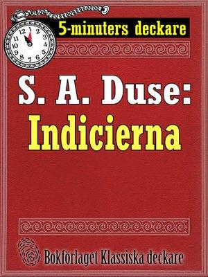 cover image of Indicierna. Brottmålshistoria