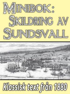 cover image of Skildring av Sundsvall