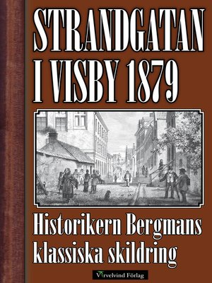 cover image of Strandgatan i Visby
