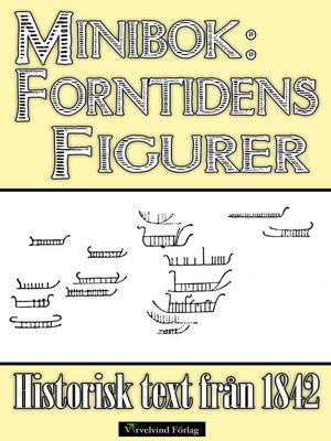 cover image of Minibok: Anmärkningar rörande figurteckningar från forntiden