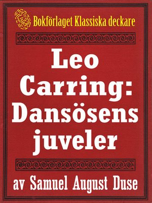 cover image of Leo Carring: Dansösens juveler