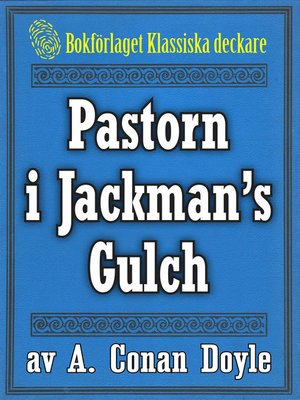 cover image of Pastorn i Jackman's Gulch