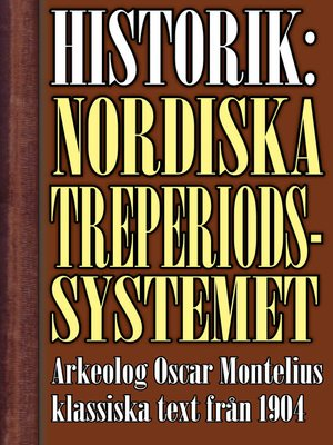 cover image of Det nordiska treperiodssystemet. En historik