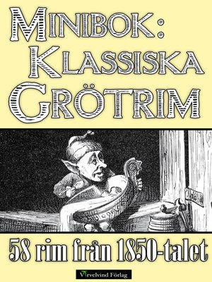 cover image of 58 grötrim från 1850-talet