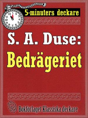 cover image of Bedrägeriet. En historia