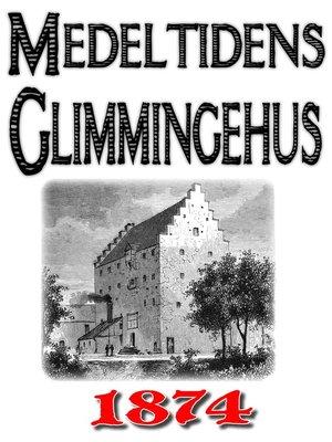 cover image of Minibok: Skildring av medeltidens Glimmingehus
