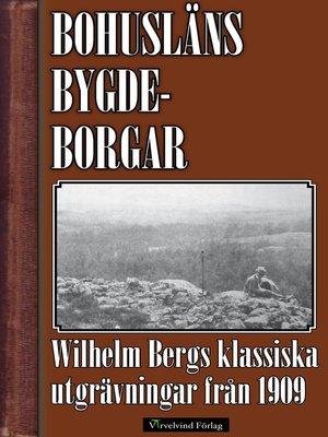 cover image of Bohusläns bygdeborgar