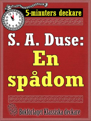 cover image of En spådom. Berättelse