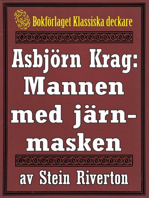 cover image of Asbjörn Krag: Mannen med järnmasken