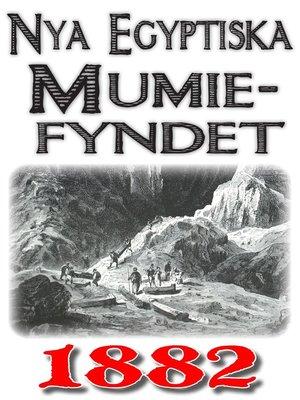 cover image of Fyndet av nya mumier i Egypten