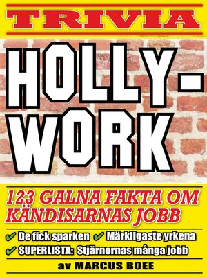 cover image of Hollywork