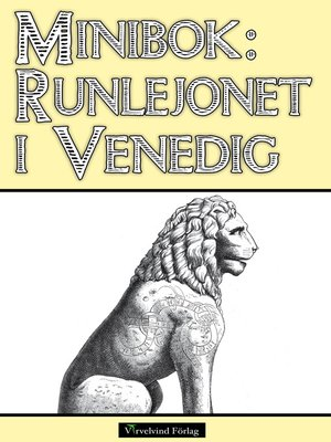 cover image of Minibok: Runlejonet i Venedig