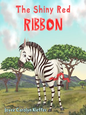 cover image of The Shiny Red Ribbon