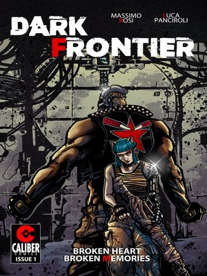 cover image of Dark Frontier, Issue 1