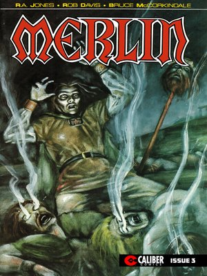 cover image of Merlin: The Legend Begins, Issue 3