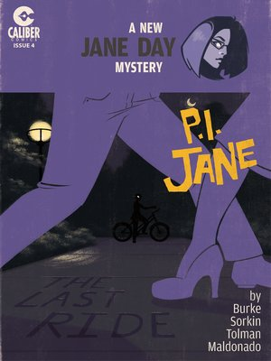 cover image of P.I. Jane, Issue 4