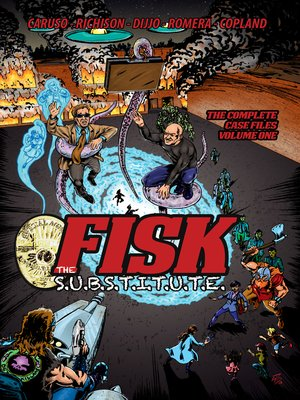 cover image of FISK the S.U.B.S.T.I.T.U.T.E.