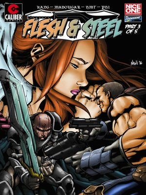 cover image of Flesh and Steel, Issue 3