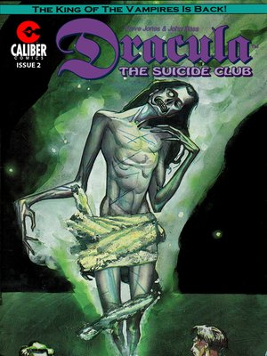 cover image of Dracula: The Suicide Club, Issue 2