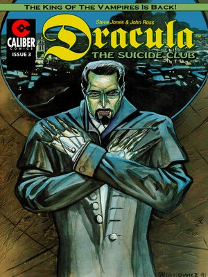 cover image of Dracula: The Suicide Club, Issue 3
