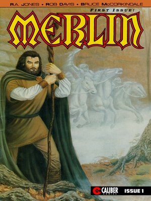 cover image of Merlin: The Legend Begins, Issue 1