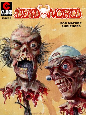 cover image of Deadworld, Issue 8