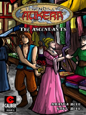 cover image of Legends of Aukera: The Ascendants, Issue 2
