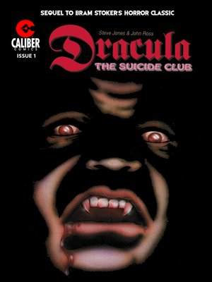 cover image of Dracula: The Suicide Club, Issue 1