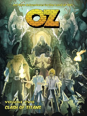 cover image of OZ: Volume 2