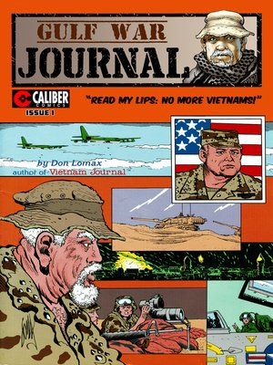 cover image of Gulf War Journal, Issue 1